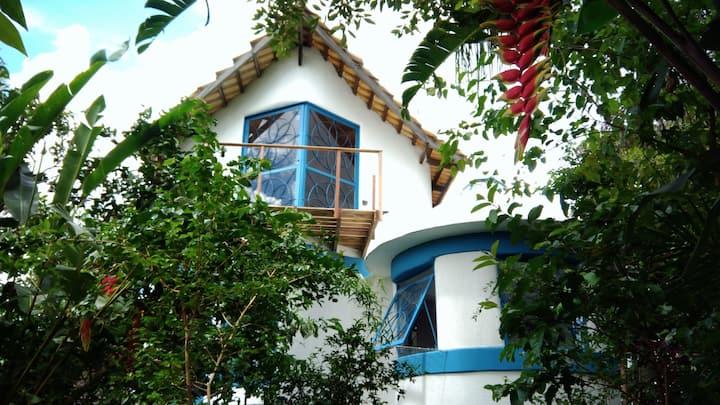 Casas no Alto 1  Arquitetura Sagrada  AP Chapada V