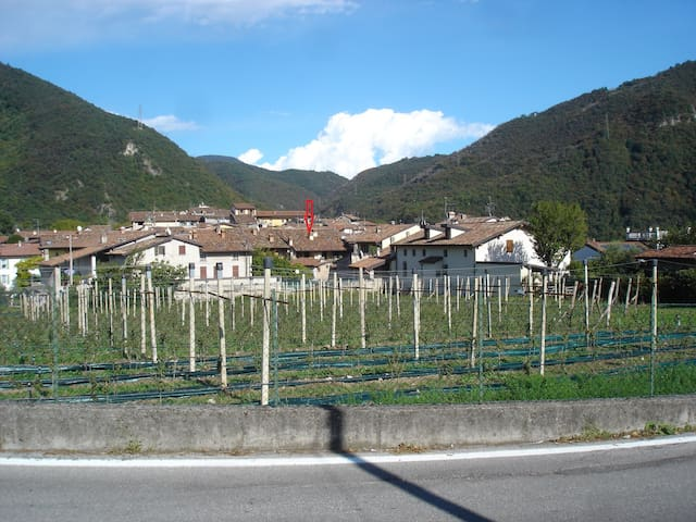 Attico in centro storico vicino Salò Lago di Garda - Roe' Volciano - Lägenhet