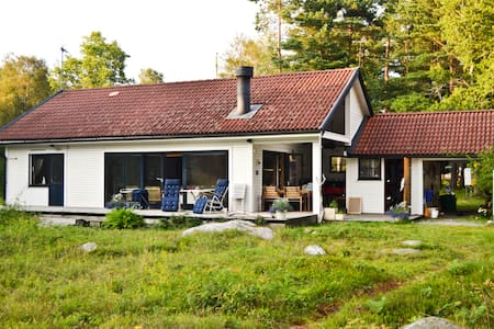 Our paradise on Rossö by the sea - Strömstad - 一軒家