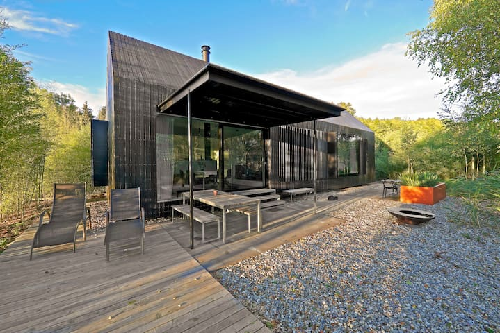 haus am see im hofgut hafnerleiten niederbayern chalet. Black Bedroom Furniture Sets. Home Design Ideas