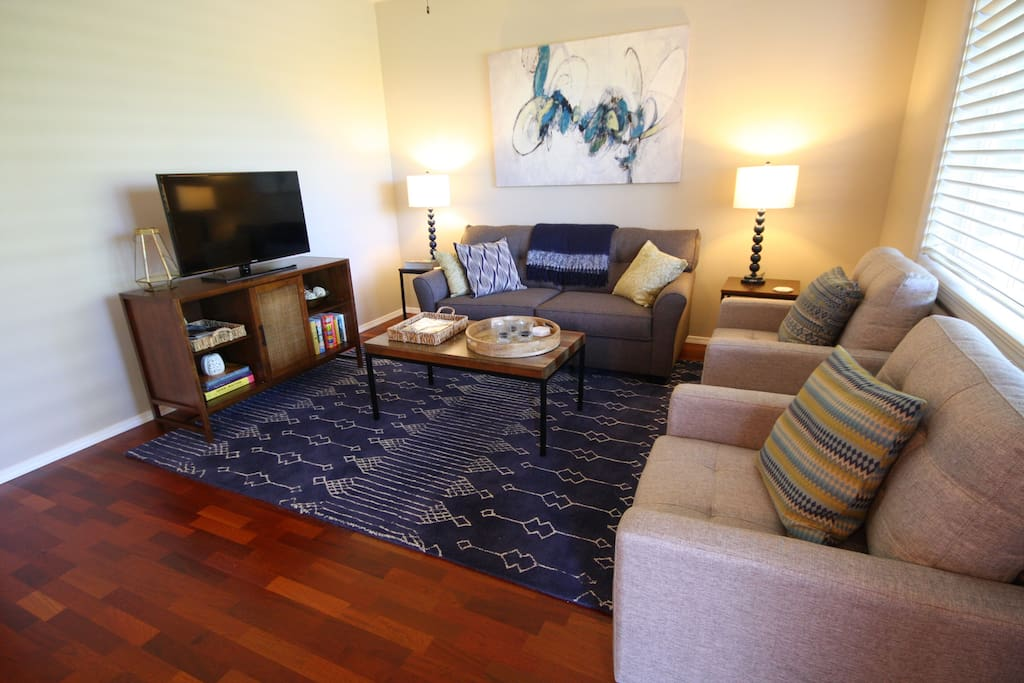 All new furnishings; Cable TV