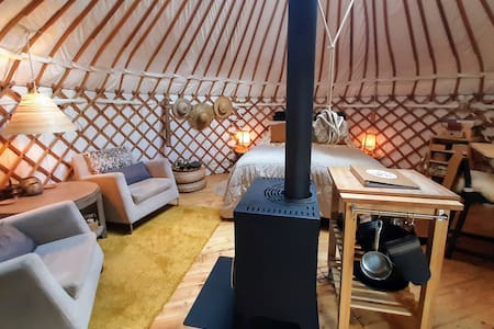 Yurt 'Living in the Round'   Glamping in nature