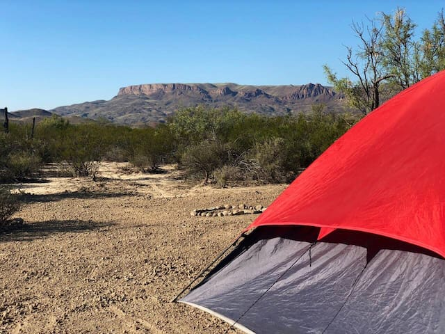 Feel free to wander and explore the rest of the Big Bend Glamping property during your stay.