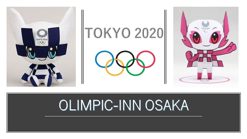OLYMPIC-INN OSAKA ☆NAMBA・SHINSAIBASHI☆