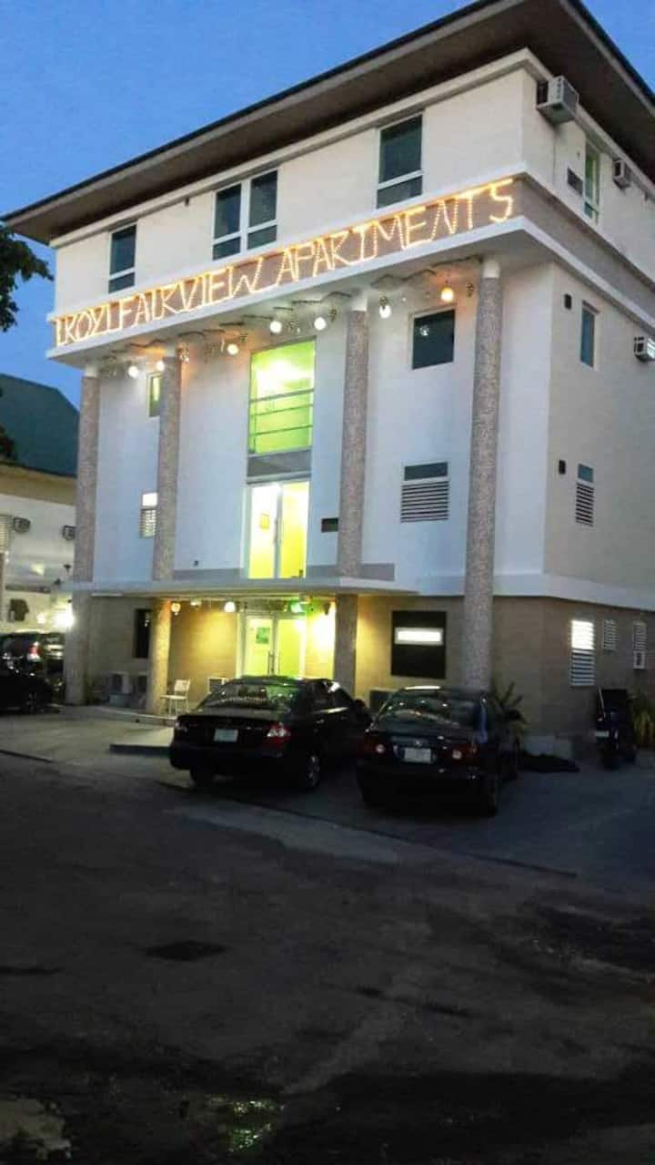IKOYI FAIRVIEW STUDIO7- MINI 1 BDRM & HALL-1st FLR