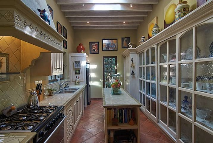 Chef's kitchen fully equipped with everything you need to make amazing meals at home