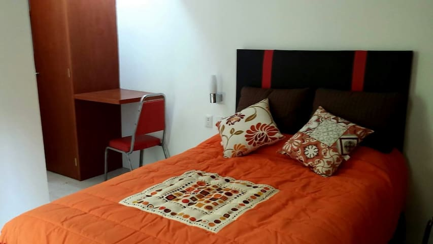 5 min to CDMX airport - Pensador Mexicano - Appartement