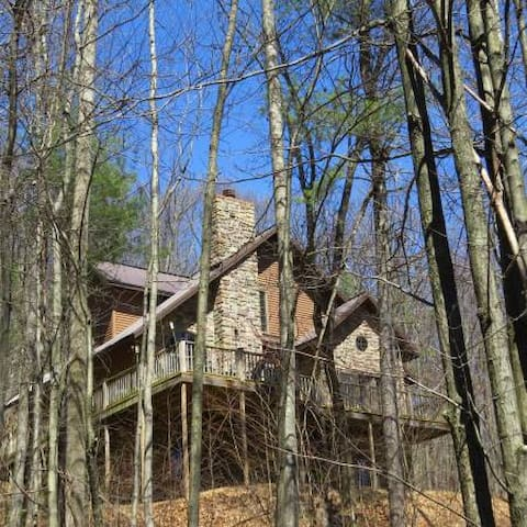 Secluded cabin, close to PSU and lake. - Bellefonte - Sommerhus/hytte