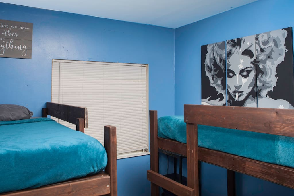 Shared Rooms with 8 inch memory foam Mattresses