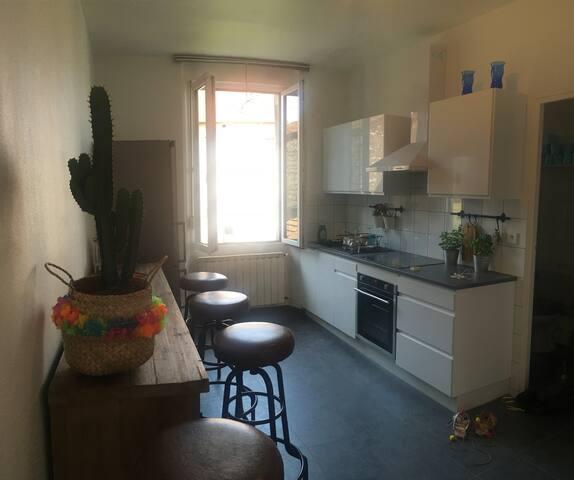 Appartement lumineux de 46m2