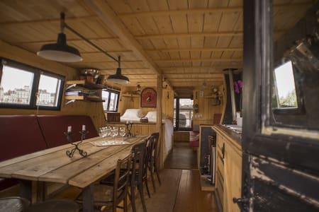 Logement insolite, bateau traditionnel de Loire - Saumur - Boat