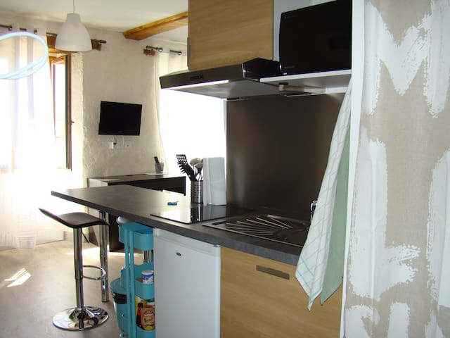Studio tout confort - Font-Romeu-Odeillo-Via - Appartement