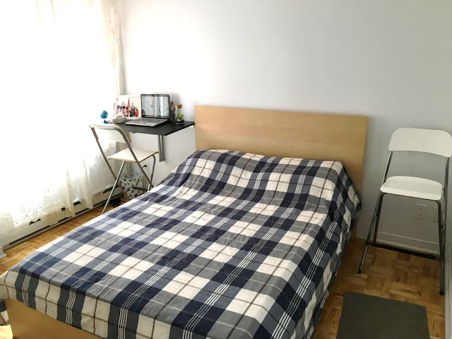 Comfy and affordable bedroom in Montreal!