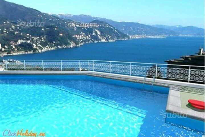 Rapallo vista mare Portofino est