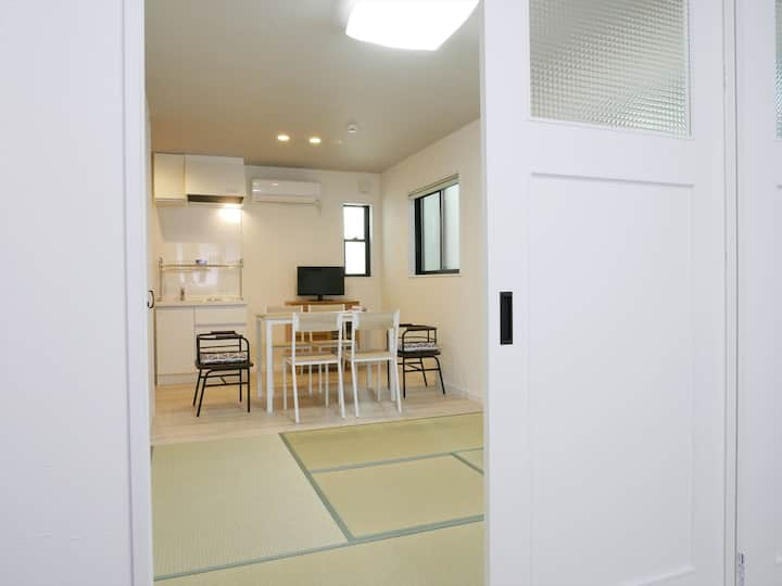 1 stop Kyoto Sta/Comfy apart/up to 5/Free Wi-Fi