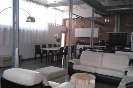 Amazing 175m2 loft in Lyon - Lyon - Rumah