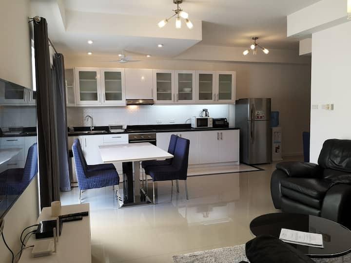 New One bedroom 75 m2 suite G in Ambassador Suites
