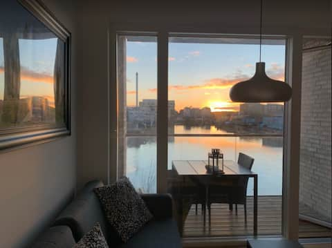 Room With Sunset and Water view. Clean and New