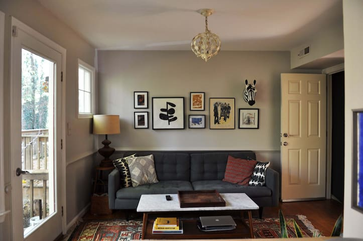 Cozy basement suite w/patio near UVA - Charlottesville - Hus