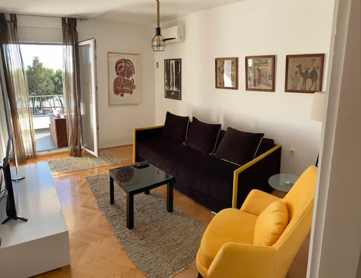 Lux apartman 20m from the sea!