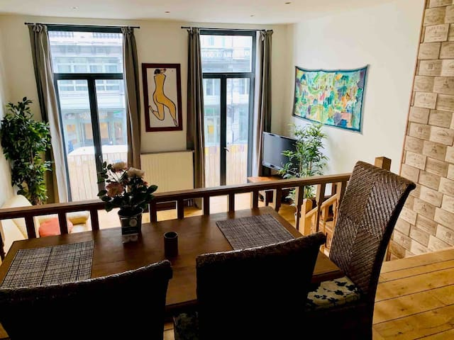 Gorgeous apartment in the center near Grand Place