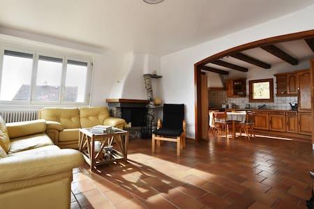 Peaceful location, Alps & Lake view - Bourg-en-Lavaux - Apartmen