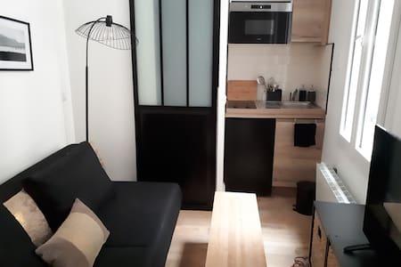 Studette 9 m2 Paris 3ème + petit déjeuner