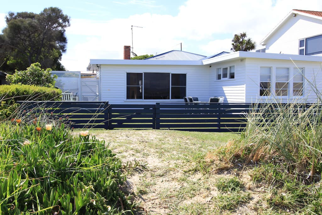 20 metres to the beach from your doorstep