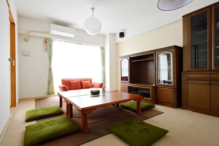 Osaka,4rooms, 60㎡, Clean, To KIX without transfer. - Osaka-shi - Apartment