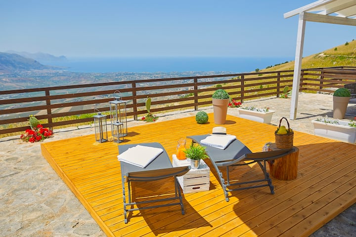 villa in a quiet area 600 meters above sea level
