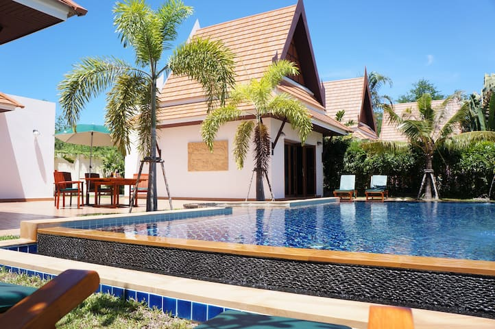 Mini-Villa 1 bedroom with swimmingpool - Rayong - Villa
