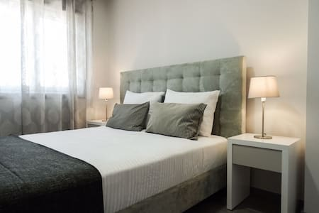 The bedrooms on all our apartments are similar, here is a preview of one of them