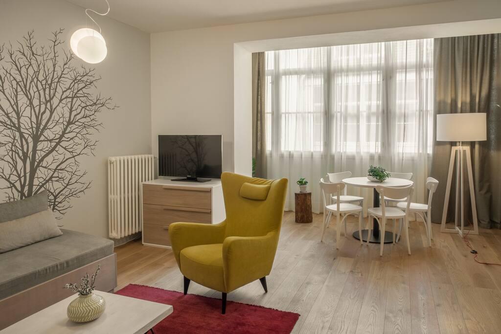 One Bedroom Apartment Bee #16
