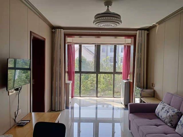 温汤古井泉街+温汤古镇+天沐维景、矿疗工疗温泉+明月山边的舒适、性价比很高的整套公寓