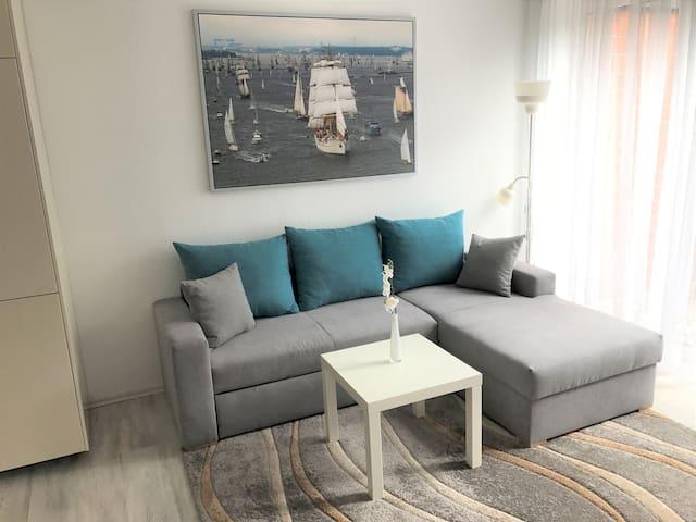 Modern 2 room apartment - central location in Kiel