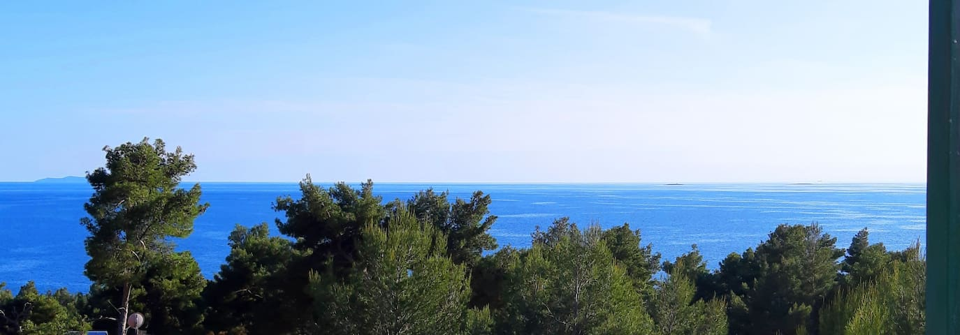 Spectacular sea view to keep you in the summer mode all the time!