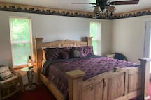 Master bedroom includes king size bed and Direct TV
