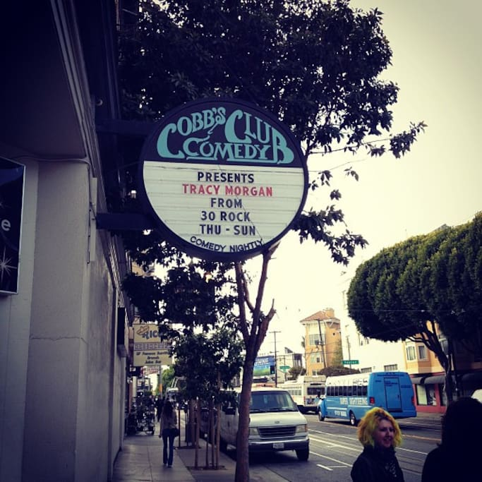 Photo of Cobb's Comedy Club in Russian Hill