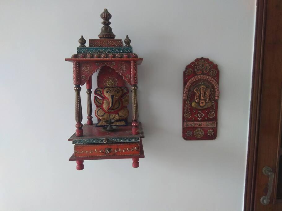 Welcoming Ganesh