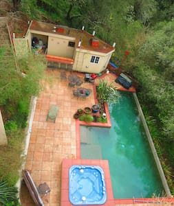 King bed, private deck - Santa Rosa - Casa