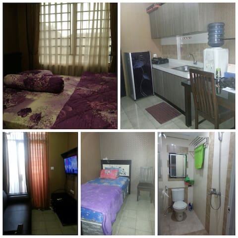 Cozy Apartment 2Room in Cimahi - Cimahi - Apartamento