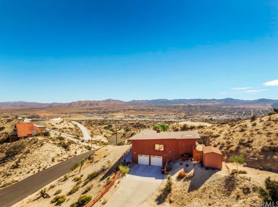 Private with commanding views!