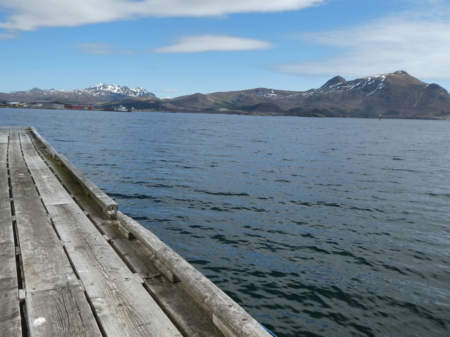 Fancy your own, private pier for the morning coffee? We got it!