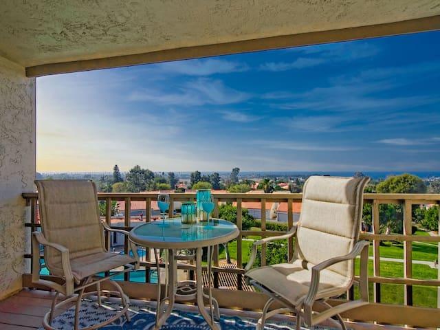 Enjoy Serene Ocean Views From Your Balcony