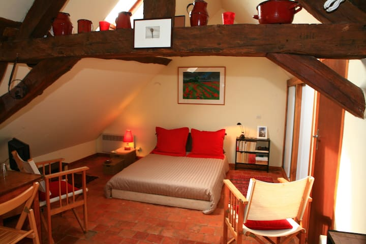 CHAMBRE DE CHARME, PRES VEZELAY - Avallon - Apartment