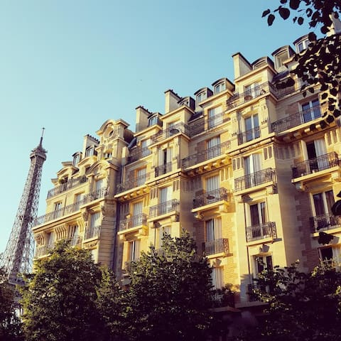 Your charming room at the foot of the Eiffel Tower - Paris - Apartamento