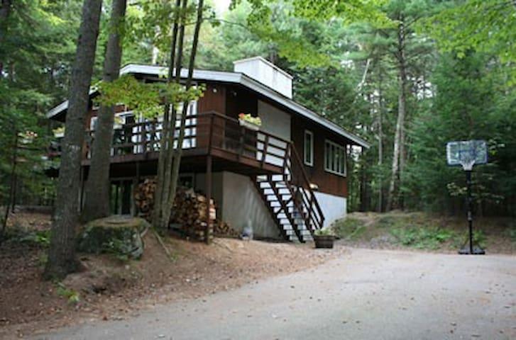 Woodland Chalet, 4 br 2 ba quiet mountain retreat