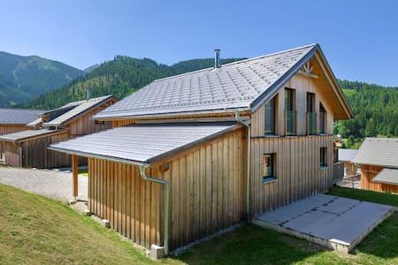 Ritzy Chalet with Infrared Sauna, Jacuzzi & mountain views in Hohentauern