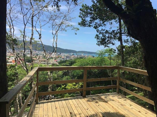Secret Garden: room JASMIM DO POETA ( n. 1 ) - Bombinhas - Bed & Breakfast