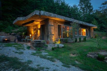 The Bedrock Cave Cottage